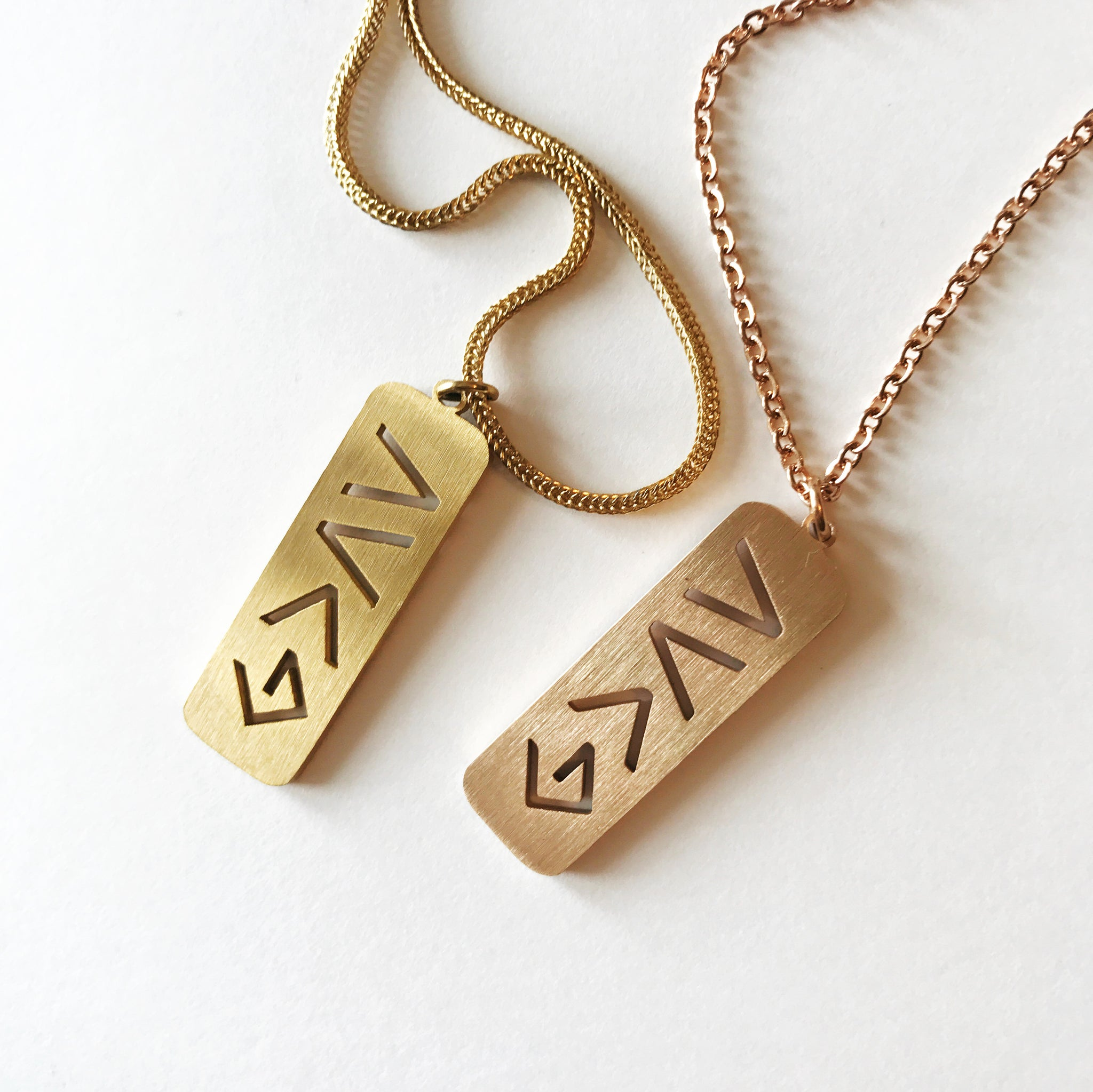 God Is Greater Than the Highs & Lows Necklace