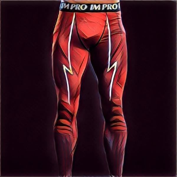MEN SUPERHERO COMPRESSION LEGGINGS