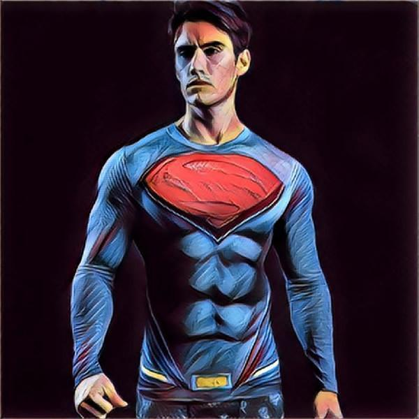 MEN SUPERHERO COMPRESSION SHIRTS