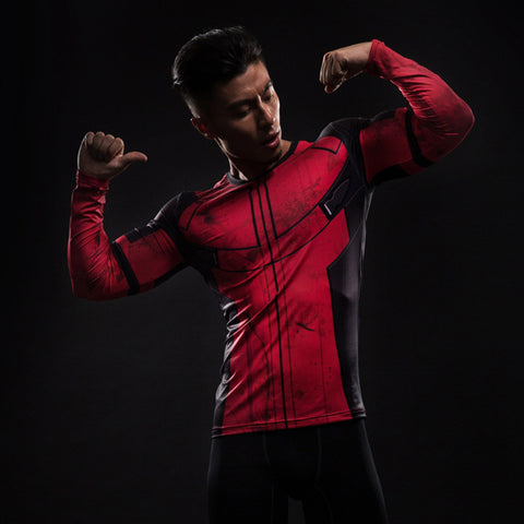Deadpool Compression Shirts