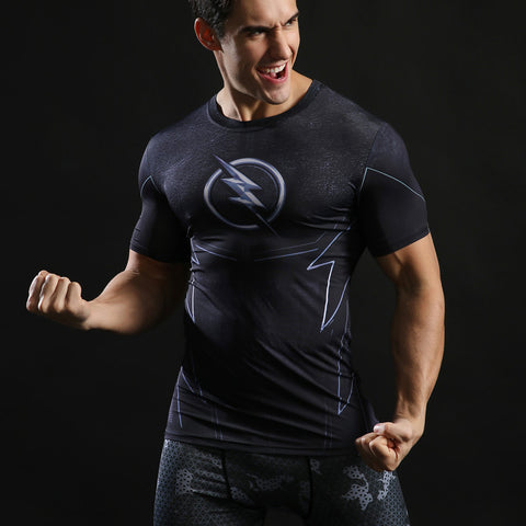 Superhero Compression Shirts for Men (Short Sleeve)
