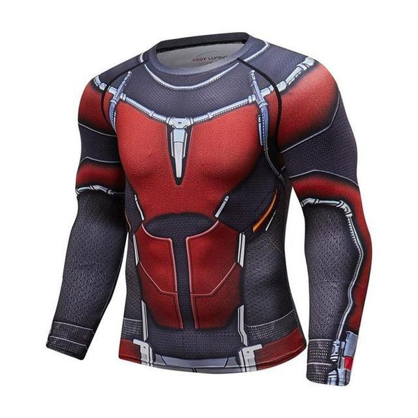 ANT-MAN 2 Long Sleeve Compression Shirt for Men