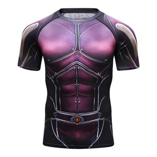 Ant-Man 2 THE WASP Short Sleeve Compression Shirt for Men