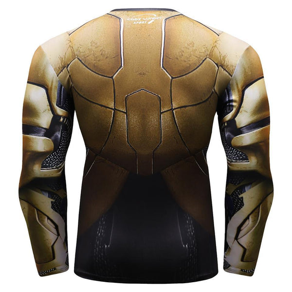 Avengers 3 Infinity War THOR Long Sleeve Compression Shirt