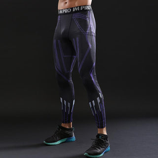 Avengers 3 Panther Leggings for Men