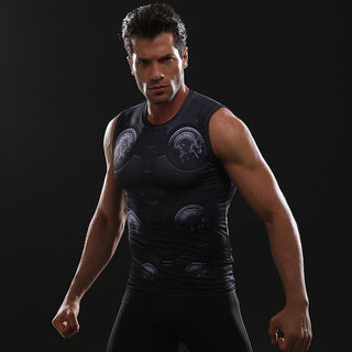Avengers 3 THOR Compression Tank Top for Men