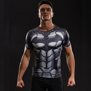 BATMAN Compression Shirt for Men (Short Sleeve)