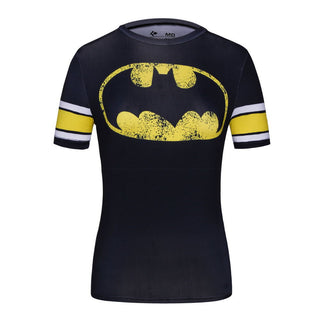 BATMAN Compression Shirt for Women (Short Sleeve)