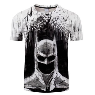 BATMAN Drawing Short Sleeve T-Shirt for Men