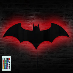 BATMAN Remote Controlled LED Wall Light/Mirror