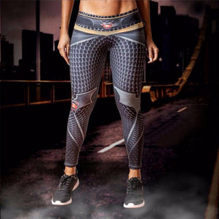 BATMAN vs. SUPERMAN Compression Leggings/Pants for Women