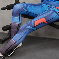 CAPTAIN AMERICA Compression Leggings/Pants for Women