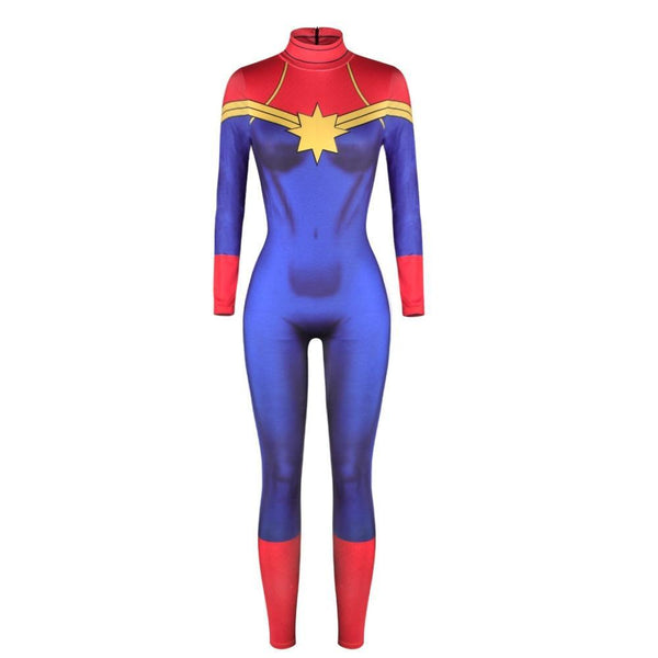 Captain Marvel Cosplay Suit For Women Me Superhero Captain marvel embodies hope and what's to come. captain marvel cosplay suit for women