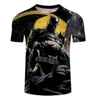 Dark Knight BATMAN Short Sleeve T-Shirt for Men
