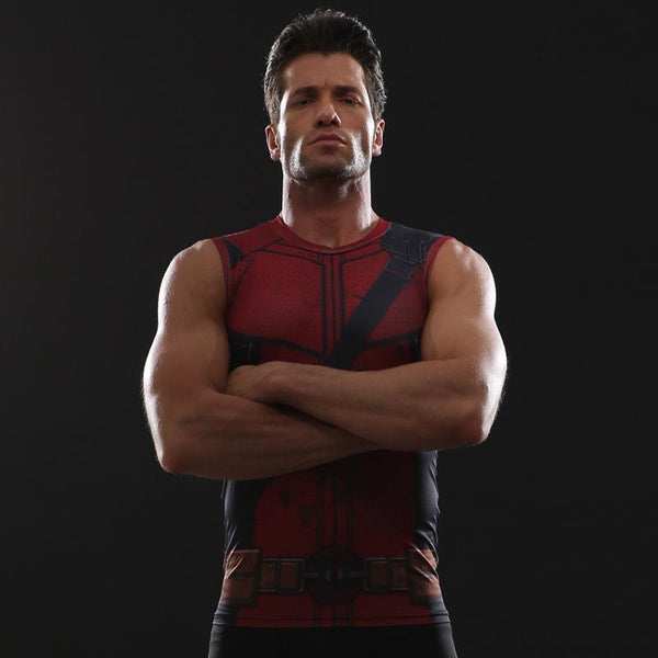 DEADPOOL 2 Compression Tank Top for Men