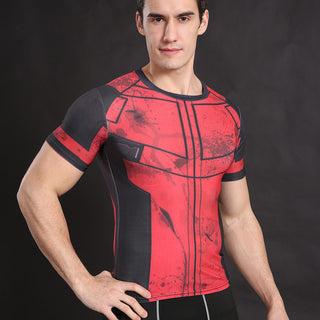 DEADPOOL Compression Shirt