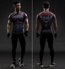 FALCON Compression Shirt for Men (Short Sleeve)