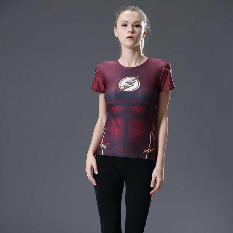FLASH Compression Shirt for Women (Short Sleeve)
