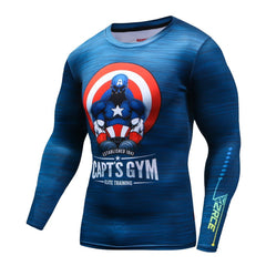 FUNNY Compression Shirt for Men (Long Sleeve)
