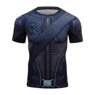 GREEN ARROW Short Sleeve Compression Shirt for Men