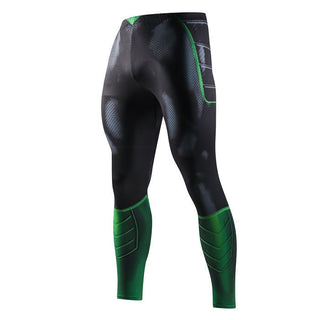 GREEN LANTERN Compression Leggings/Pants for Men