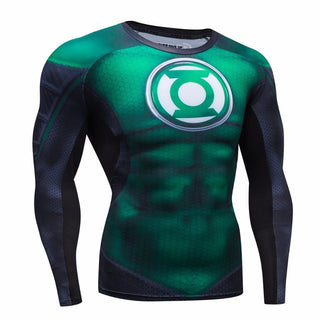 GREEN LANTERN Compression Shirt for Men (Long Sleeve)