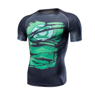 GREEN LANTERN Compression Shirt for Men (Short Sleeve)