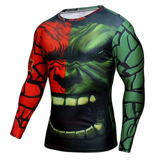 HULK Compression Shirt for Men (Long Sleeve)