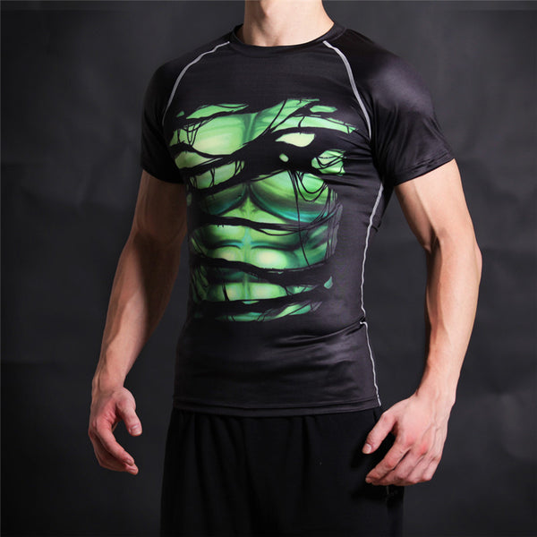 HULK Compression Shirt for Men (Short Sleeve)