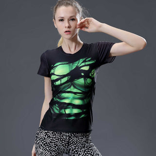 HULK Compression Shirt for Women (Short Sleeve)