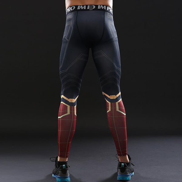 Infinity War Spiderman Leggings for Men