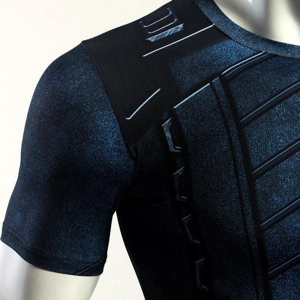 Infinity War WINTER SOLDIER Short Sleeve Compression Shirt for Men
