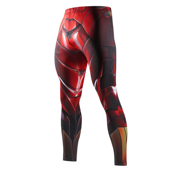 dedaf9cb09985 IRON MAN Compression Leggings/Pants for Men – I AM SUPERHERO