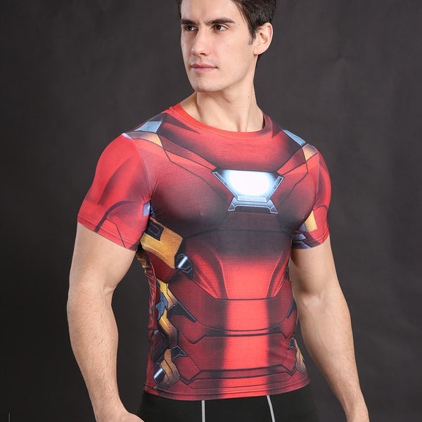 IRON MAN Compression Shirt