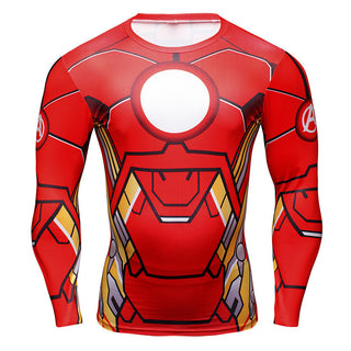 c644f9aea71 IRON MAN Compression Shirt for Men (Long Sleeve)