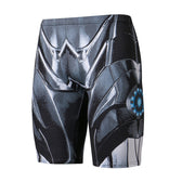 IRON MAN Compression Shorts for Men