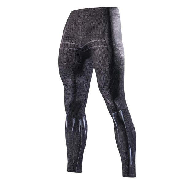 King T'CHALLA Compression Leggings for Men