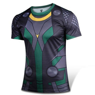 LOKI Short Sleeve Compression Shirt for Men
