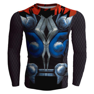 Long Sleeve THOR Compression Shirt for Men