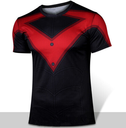 NIGHTWING Compression Shirt for Men (Short Sleeve)