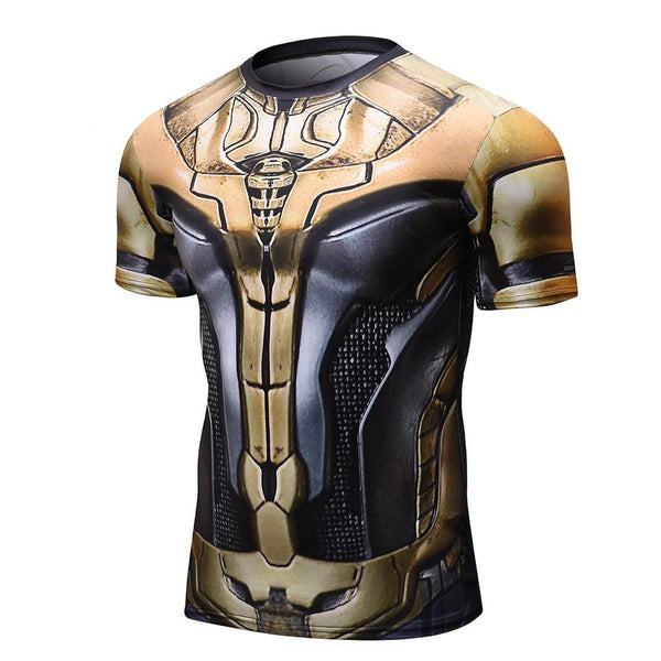 Novelty THOR Short Sleeve Compression Shirt for Men