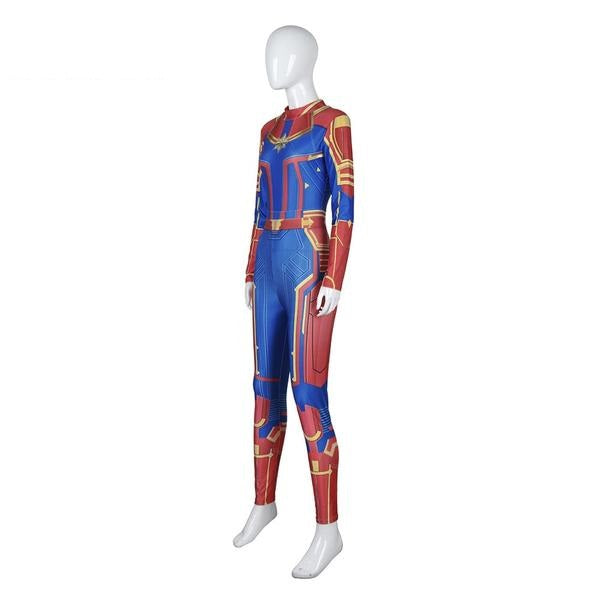 Captain Marvel Costume Jumpsuit For Women Me Superhero About 3% of these are tv & movie costumes, 0% are women's trousers & pants, and 0% are zentai / catsuit. usd