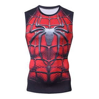a20bd442e8670 Mens Superhero Compression Tank Tops – I AM SUPERHERO