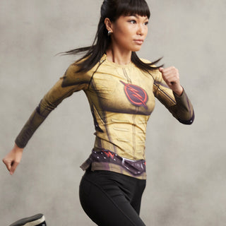 REVERSE FLASH Compression Shirt for Women (Long Sleeve)