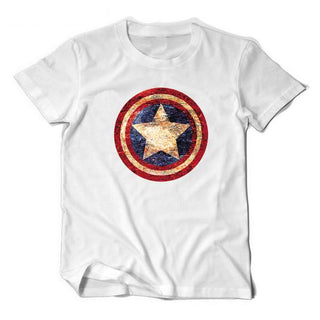 SHELDON'S CAPTAIN AMERICA T-Shirt (3 colors)