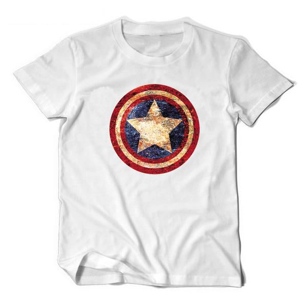 sheldon s captain america shield t shirt 3 colors i am superhero