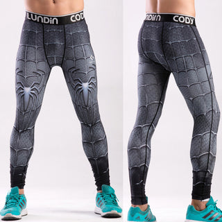 SPIDERMAN Compression Leggings/Pants for Men
