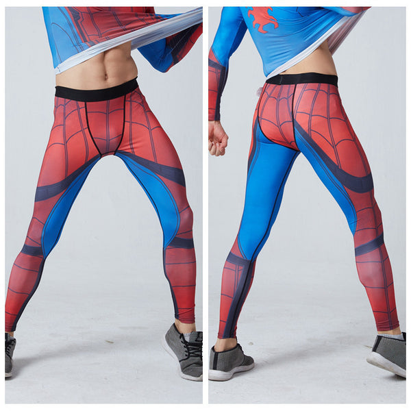 a63cae0c0a SPIDERMAN Compression Gym Pants for Men – I AM SUPERHERO