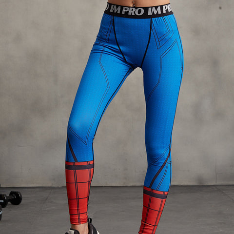 SPIDERMAN Compression Leggings/Pants for Women