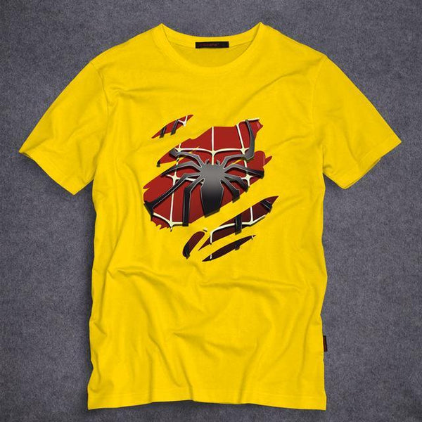 SPIDERMAN Short Sleeve T-Shirt for Men in 8 colors